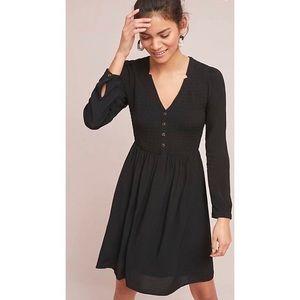 Maeve Long Sleeve Buttondown Dress